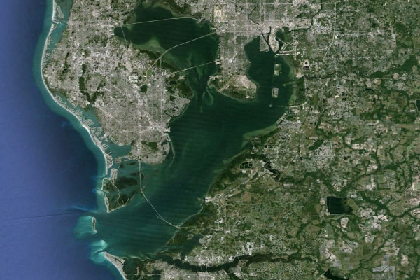Aerial Image of Tampa Bay