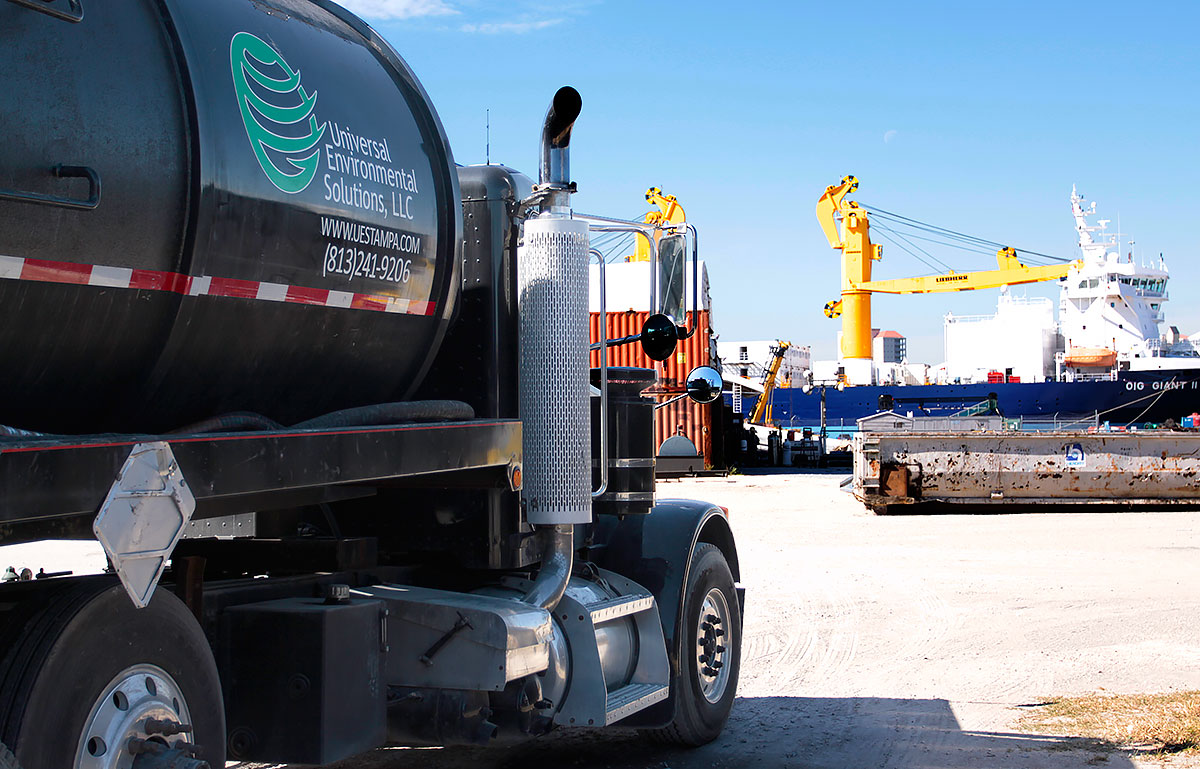 Waste and Remediation Services-Universal Environmental Solutions